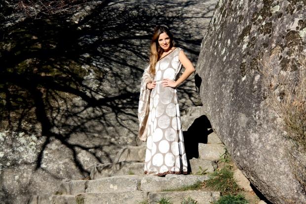 lareinadellowcost la reina del low cost blog moda vestido de boda invitada vestido de boda barato look boda de tarde vestido largo para boda bines vinage outlet tienda de ropa madrid torrelodones el escorial pilar pascual 2