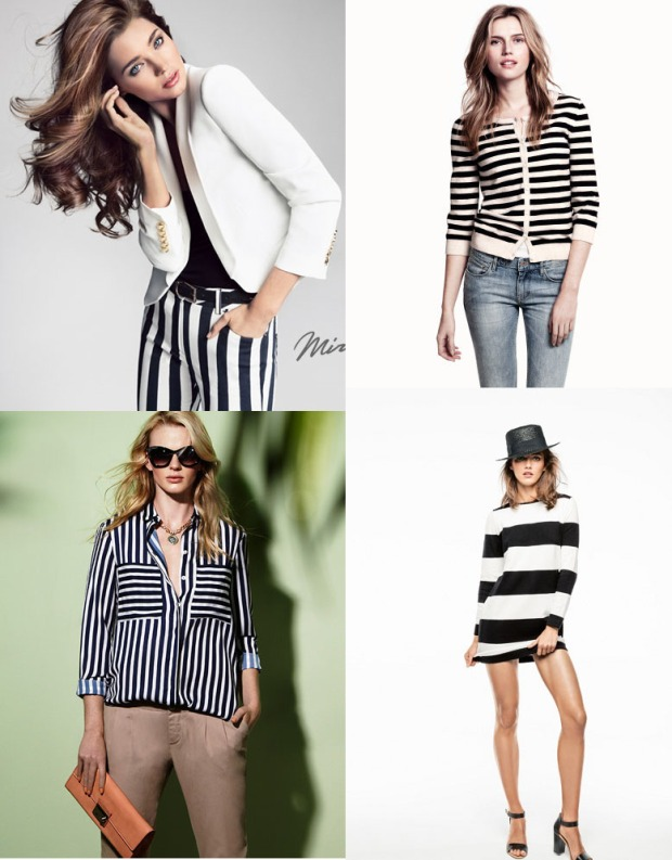 la reina del low cost blog de moda barato total look outfit barato tendencia primavera verano 2013 striped shorts dress pantalones rayas blanco y negro tendencia moda