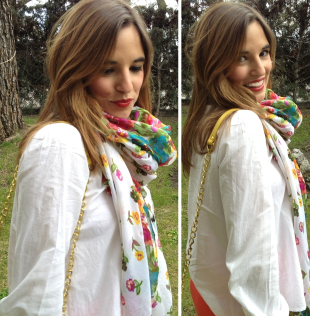 la reina del low cost blog moda barata street style total look outfit primavera 2013 mulaya botoncitos.com pull bear benetton verano makeup maquillaje