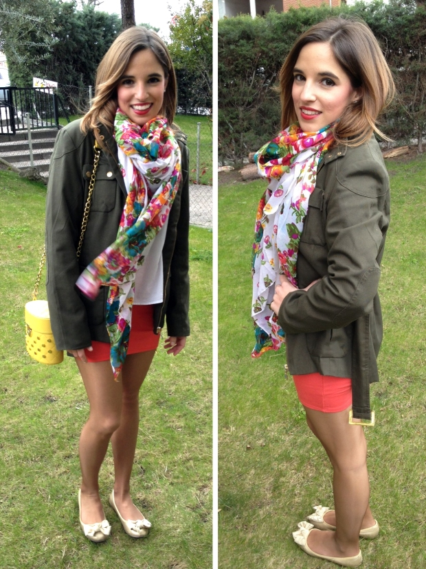 la reina del low cost blog moda barata total street style total look outfit primavera 2013 mulaya botoncitos.com pull bear benetton verano makeup maquillaje