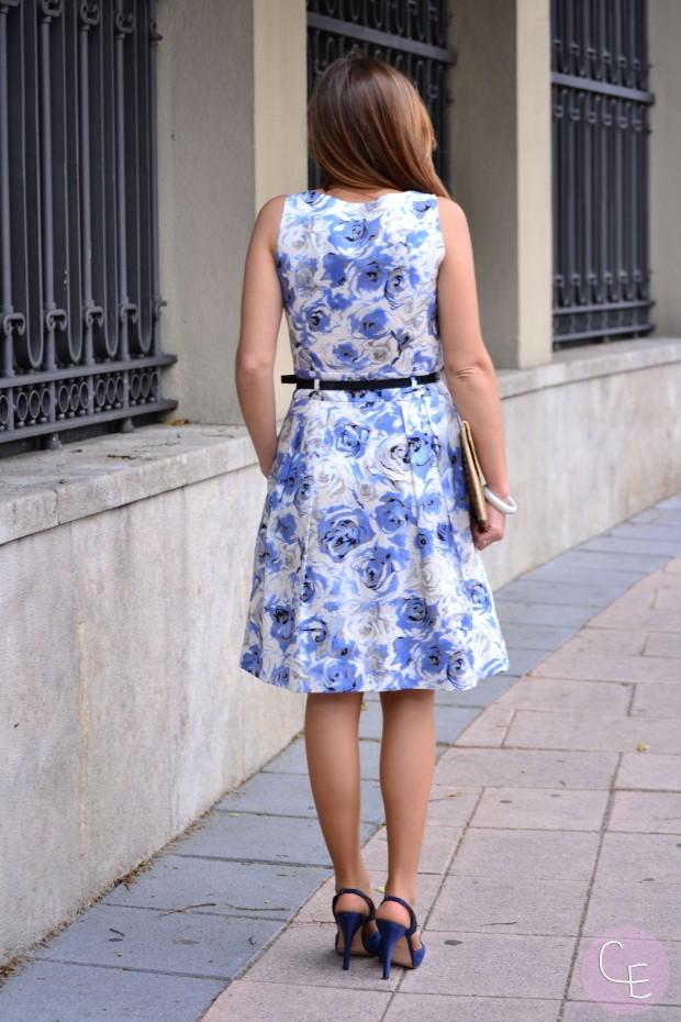 la reina del low cost blog de moda barata look invitada boda 2013  roberto verino gloria ortiz etnia cosmetics tendencias 2013 boda verano 2013 3
