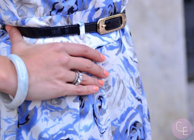 la reina del low cost blog de moda barata look invitada boda 2013  roberto verino gloria ortiz etnia cosmetics tendencias 2013 boda verano 2013 4