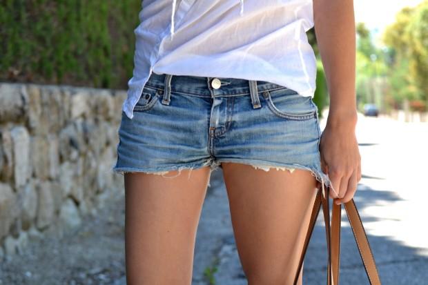 la reina del low cost blog de moda barata style outfit tendencias primavera 2013 look festival verano 2013 bandas de pelo mywool shorts levis converse bajitas bolso parfois verano 2013 2