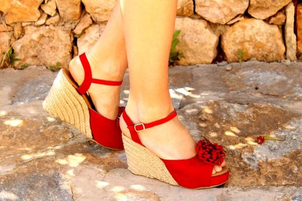 la reina del low cost blog de moda barato mercadillo ropa vintage madrid 7 8 p de junio susisweetdress ropa vintage online vestido topitos vestido lunares esparteñas conbuenpie.com opiniones 9