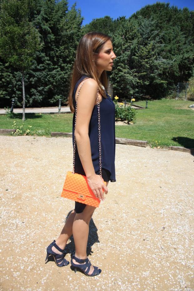 la reina del low cost blog de moda low cost outfit ootd camisola primark bolso garbocomplementos sandalias zara collar accessorize look verano 2013 3