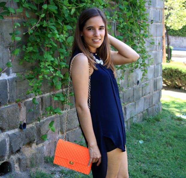 la reina del low cost blog de moda low cost outfit ootd camisola primark bolso garbocomplementos sandalias zara collar accessorize look verano 2013 4