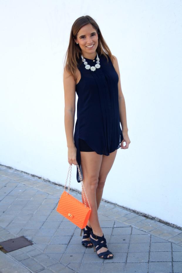 la reina del low cost blog de moda low cost outfit ootd camisola primark bolso garbocomplementos sandalias zara collar accessorize look verano 2013 6