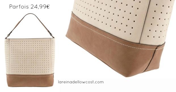 la reina del low cost blog de moda barata blog de moda low cost basicos otoño 2013 bolso parfois online ventana handbag pilar pascual del riquelme