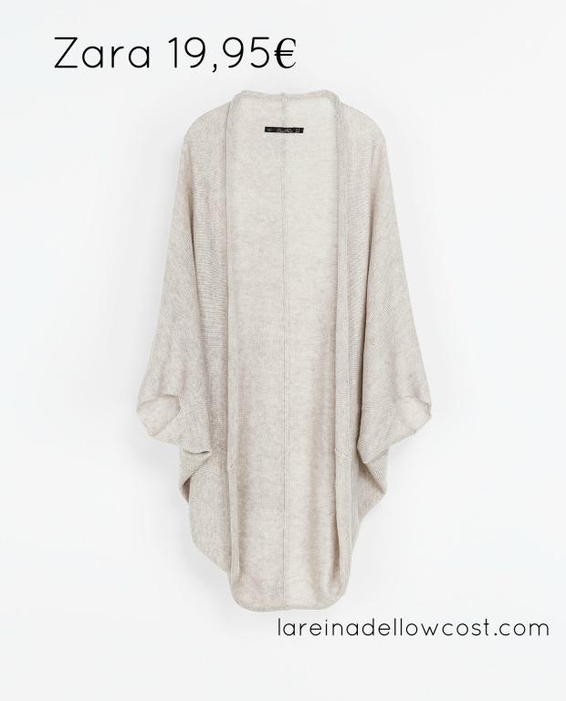 la reina del low cost blog de moda barata blog de moda low cost basicos otoño 2013 chaqueta envolvente zara online pilar pascual del riquelme