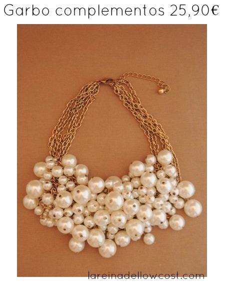la reina del low cost blog de moda barata blog de moda low cost basicos otoño 2013 collar perlas chanel garbocomplementos pilar pascual del riquelme