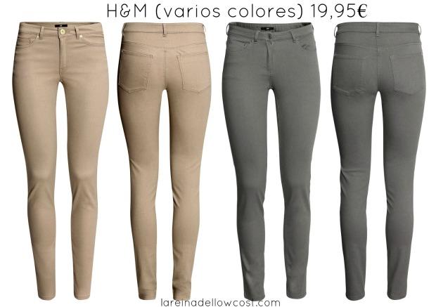 la reina del low cost blog de moda barata blog de moda low cost basicos otoño 2013 pantalones basicos h&m online pilar pascual del riquelme