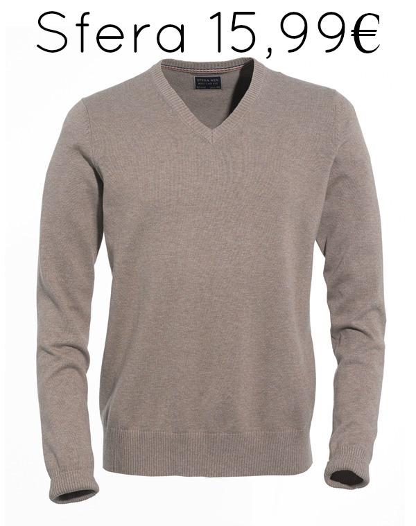 la reina del low cost blog de moda barata pilar pascual del riquelme basicos otoño 2013 chicos must have jersey cuello pico sfera online