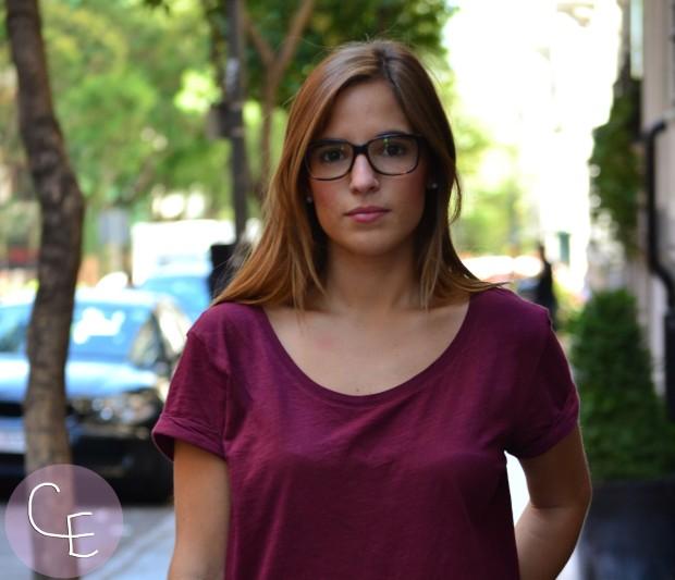 la reina del low cost blog de moda low cost blogger alicante blogger madrid look vuelta a la oficina arreglada pero informal camiseta básica HM zapatos online lefties bolso obag españa