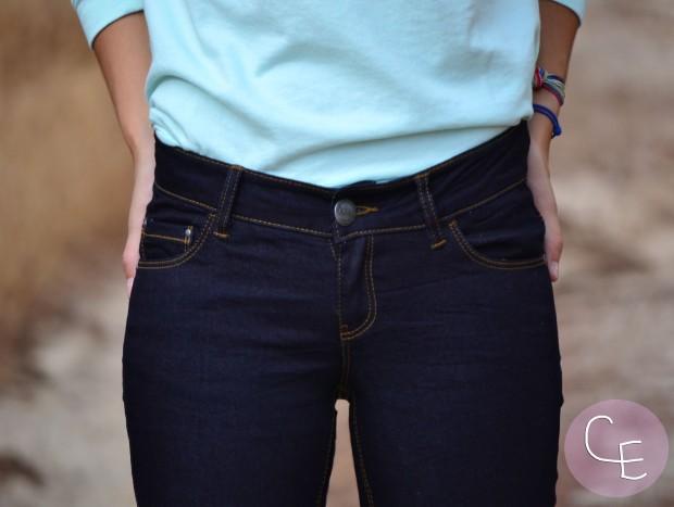 la reina del low cost pilar pascual blog de moda barata blogger buylevard online vero moda vaqueros que sientan bien jersey aguamarina verde mint pulseras cuchi cuchi collar son petites bolso o bag 5