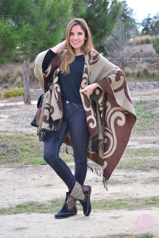la reina del low cost blog de moda barata pilar pascual del riquelme look informal look calentito style outfit blogger madrid blogger alicante lourdes moreno tienda ropa online barata zapatos xti onl (3)