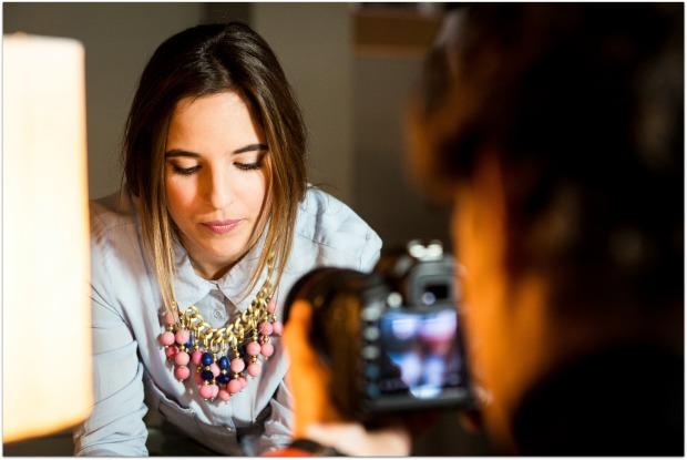 CANAL DECASA la reina del low cost blogueras de moda blog low cost blog de moda barata style outfit grabacion programa tv multicanal canal de cocina pilar pascual del riquelme  (4)