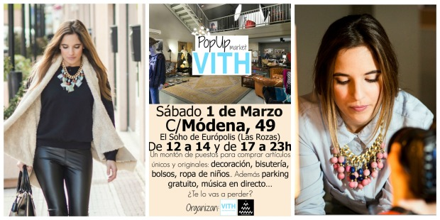 la reina del low cost blogger madrid alicante pop up mercadillo madrid las rozas outlet village street style collares complementos tocados ropa de mujer low cost