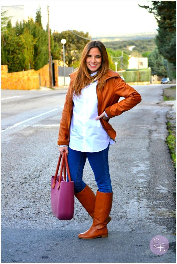 la reina del low cost blogger madrid blogger alicante blog de moda barata style outfit look para ir a la oficina garbocomplementos tienda online bisuteria complementos pull bear (2)