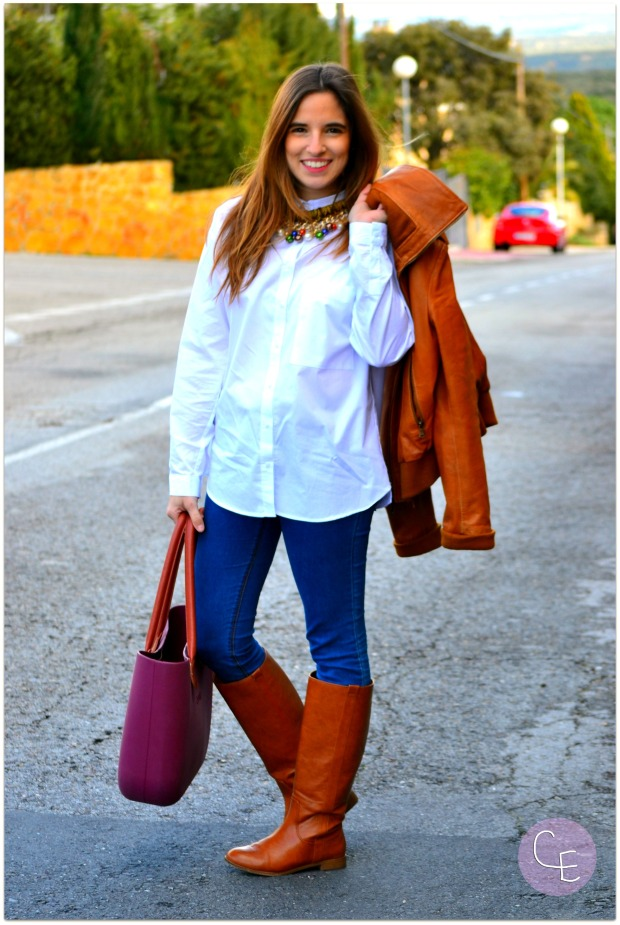 la reina del low cost blogger madrid blogger alicante blog de moda barata style outfit look para ir a la oficina garbocomplementos tienda online bisuteria complementos pull bear (3)
