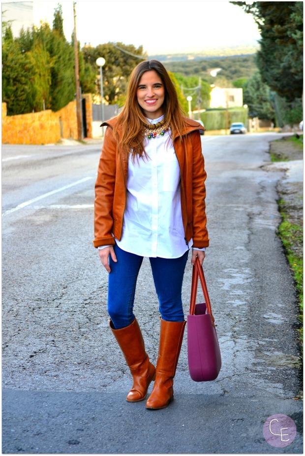 la reina del low cost blogger madrid blogger alicante blog de moda barata style outfit look para ir a la oficina garbocomplementos tienda online bisuteria complementos pull bear