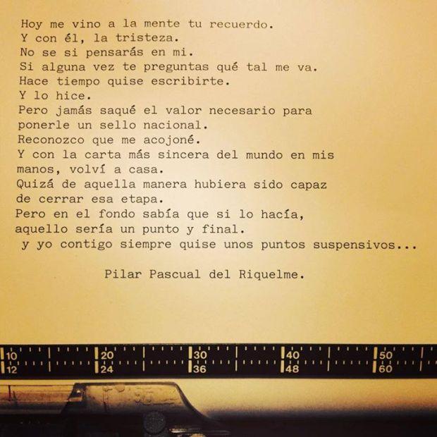 la reina del low cost poesía pilar pascual del riquelme amor desamor textos te quiero instagram frases de amor blogger madrid blogger alicante libro poesía para olvidar  (11)