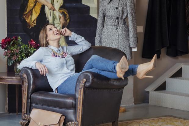 CANAL DECASA la reina del low cost blogueras de moda blog low cost blog de moda barata style outfit grabacion programa television multicanal canal de cocina pilar pascual del r (5)