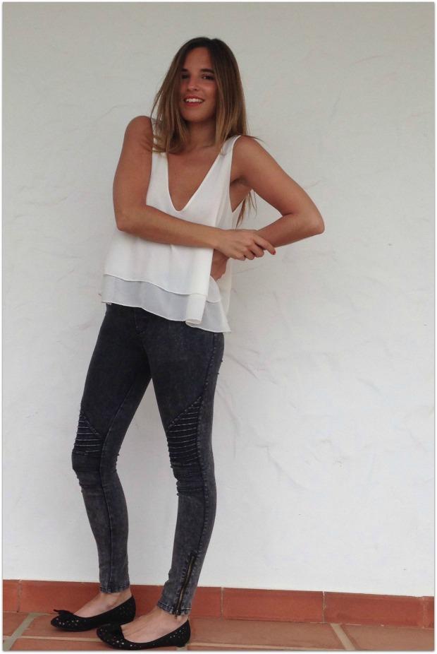 la reina del low cost pilar pascual del riquelme blogger madrid blogger alicante mulaya tienda online ropa barata style outfit crop top con volantes escote en la es (4)