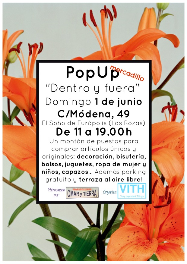 pop up mercadillo chic las rozas de madrid 1 de junio