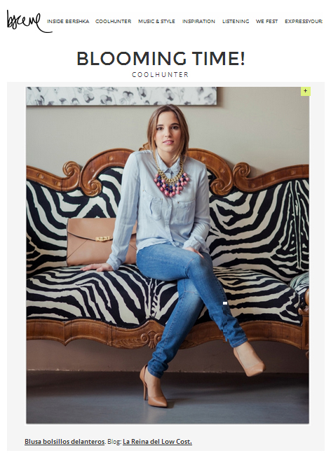 la reina del low cost bershka cool hunter street style