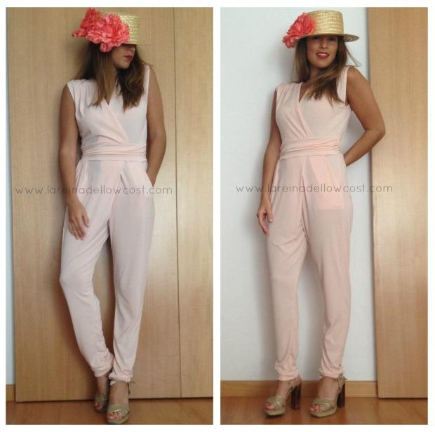 la reina del low cost blog de moda barata blog de chollos pilar pascual del riquelme blogger madrid blogger alicante mono largo verano 2014 look para comunion look con turbante botoncitos (6)
