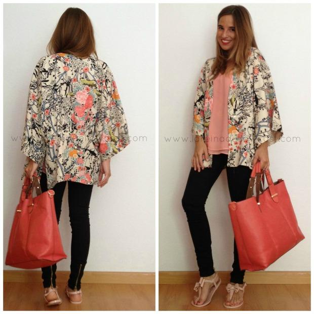la reina del low cost blog de moda barata chollos pilar pascual del riquelme style outfit total look  kimono lourdes moreno alicante bazan 25 pantalones bershka  mulaya  accessorize primark