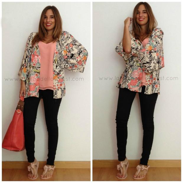la reina del low cost blog de moda barata chollos pilar pascual del riquelme style outfit total look  kimono lourdes moreno alicante bazan 25 pantalones bershka  mulaya  accessorize primark online