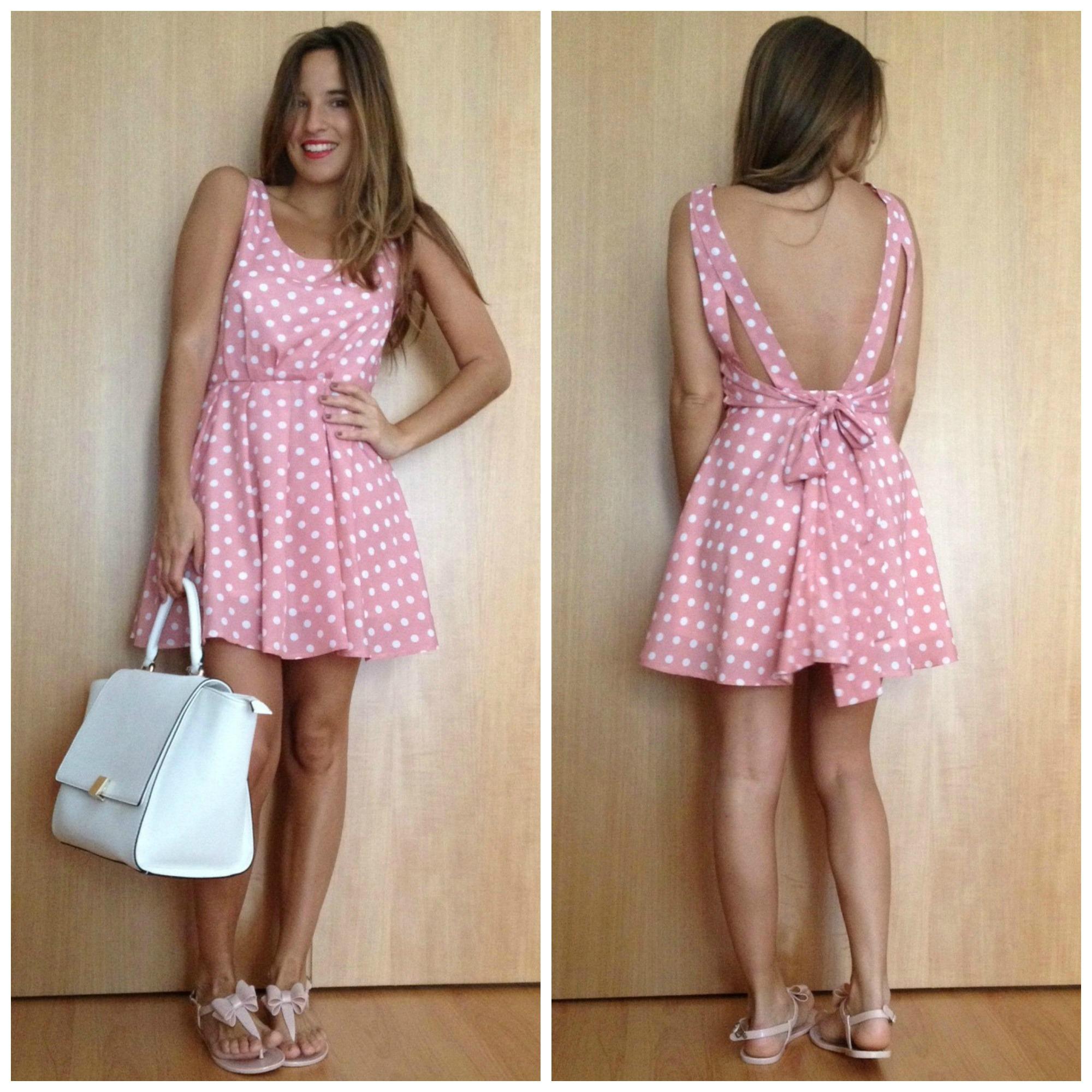 vestidos lunares online