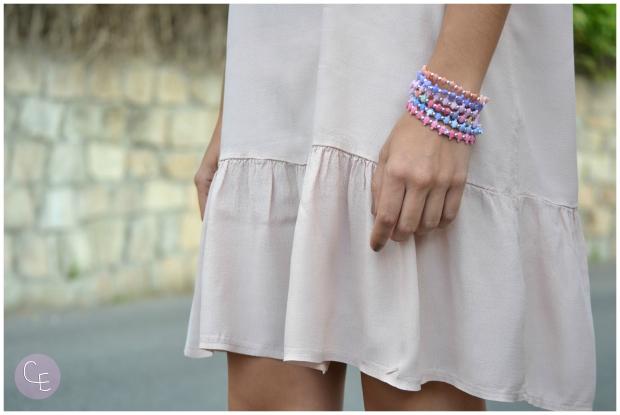 la reina del low cost pilar pascual del riquelme vestido viscosa monadeseda tienda online ropa barata vestido rosa verano 2014 pulseras turtlez españa donde comprar  (5)