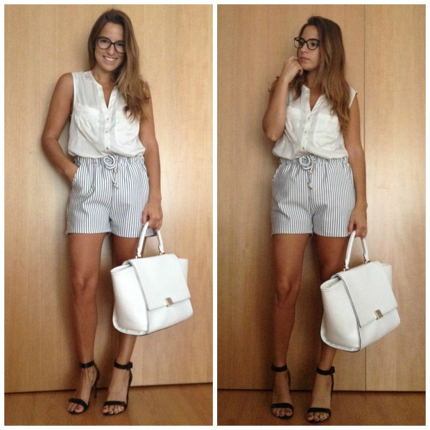 la reina del low cost pilar pascual del riquelme style outfit total look choies pull and bear stradivarius look para ir a la oficina en verano working girl  (2)
