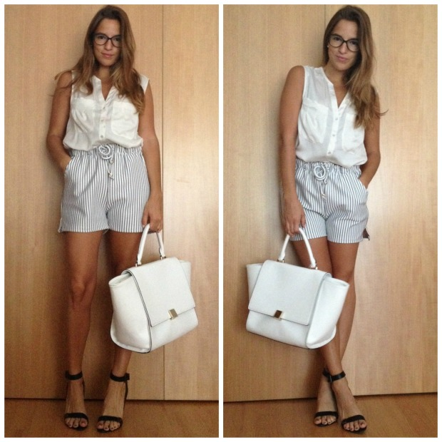 la reina del low cost pilar pascual del riquelme style outfit total look choies pull and bear stradivarius look para ir a la oficina en verano working girl