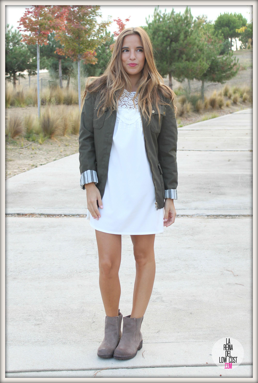 97fcf4432 ... la reina del low cost pilar pascual del riquelme vestido blanco corto  chollo moda tienda online