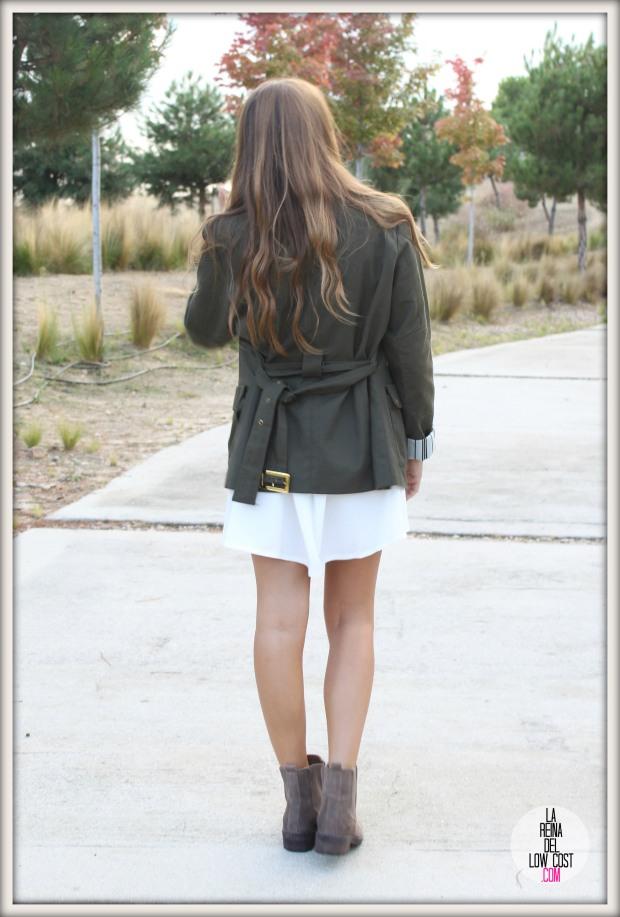 la reina del low cost pilar pascual del riquelme vestido blanco corto chollo moda tienda online ropa barata total look otoño para salir el fin de semana style outfit ootd blogger madrid vestido con botines  (9)