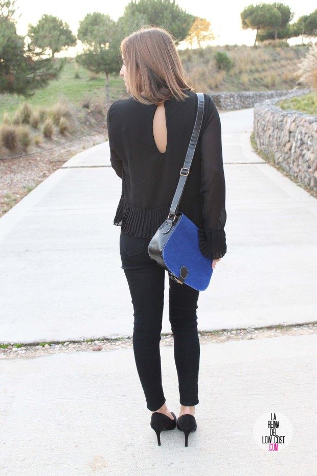 La Reina del Low Cost blog de moda barata pilar pascual del riquelme bolso azul barato chollomoda tienda de ropa barata online complementos abrigo desigual lourdes moreno salones negros mulaya pant (4)