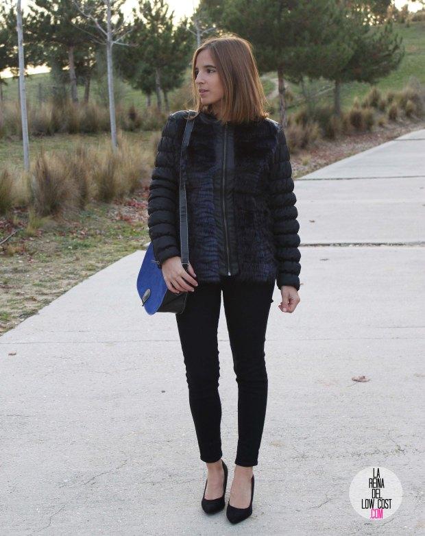 La Reina del Low Cost blog de moda barata pilar pascual del riquelme bolso azul barato chollomoda tienda de ropa barata online complementos abrigo desigual lourdes moreno salones negros mulaya pant (7)