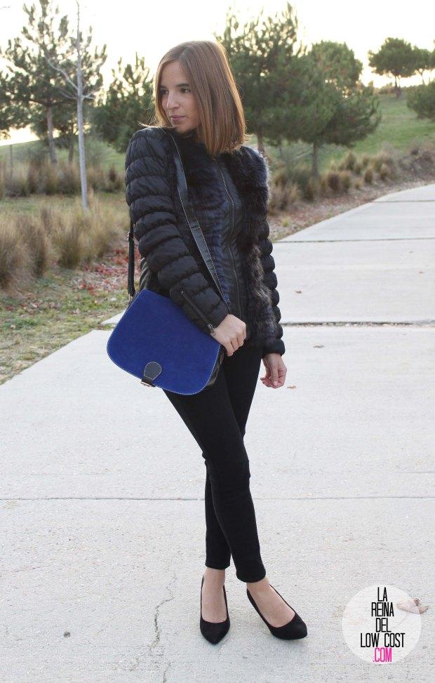La Reina del Low Cost blog de moda barata pilar pascual del riquelme bolso azul barato chollomoda tienda de ropa barata online complementos abrigo desigual lourdes moreno salones negros mulaya pant (8)