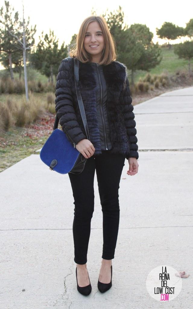 La Reina del Low Cost blog de moda barata pilar pascual del riquelme bolso azul barato chollomoda tienda de ropa barata online complementos abrigo desigual lourdes moreno salones negros mulaya pant (9)