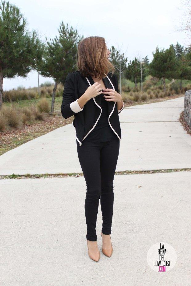 La Reina del low cost pilar pascual del riquelme chollomoda tienda de ropa online barata chaqueta blazer negra comoda como ir al trabajo sport llevar tacones al trabajo pantalones (2)
