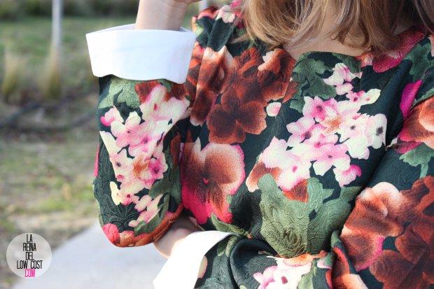 Vestido de flores manga larga cena de empresa 2014 cena de navidad amigo invisible tienda de ropa online talenti jeans la reina del low cost blog de moda barata chollos pilar pascual del riquelme