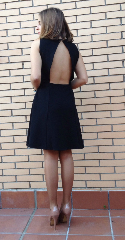 vestido nochevieja 2014 2015 barato chollomoda la reina del low cost blog de moda barata blogger española spanish blogger vestido espalda al aire vestido escote espalda V pilar pascual del  (2)