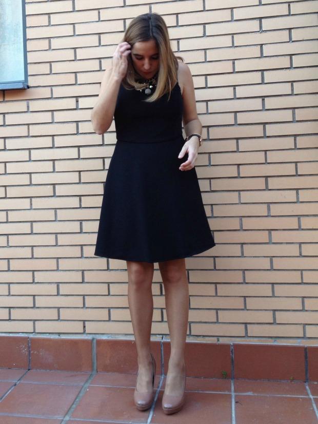 vestido nochevieja 2014 2015 barato chollomoda la reina del low cost blog de moda barata blogger española spanish blogger vestido espalda al aire vestido escote espalda V pilar pascual del riquelme