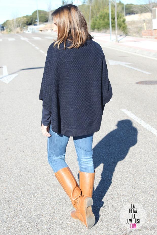 OKEYSI poncho rebajas la reina del low cost blog de moda barata style outfit pull and bear okeysi tienda online mango outlet  (3)