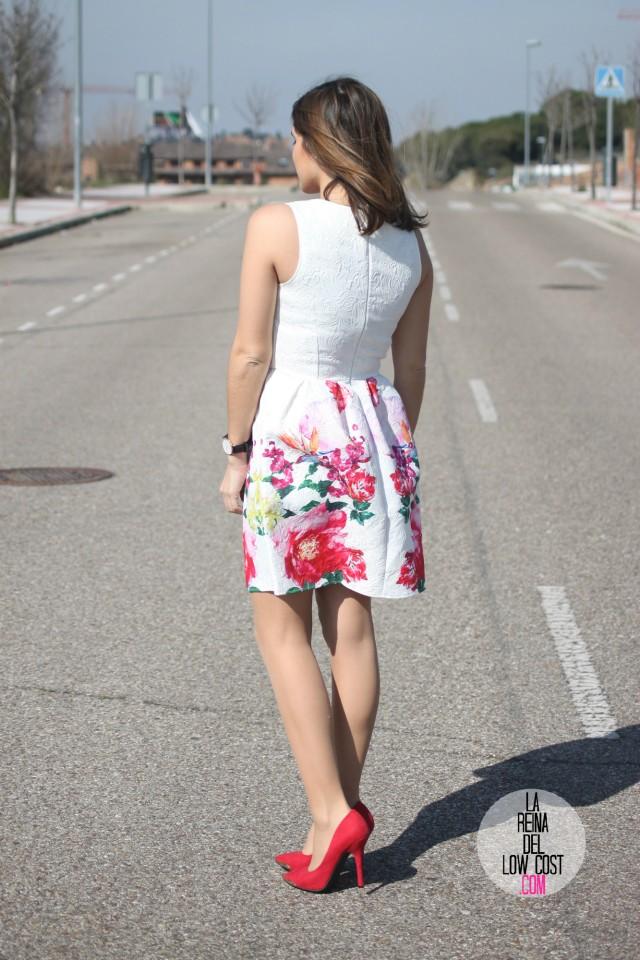 look para comunion graduacion 2015 orla de pies a cabeza zaragoza tienda ropa barata la reina del low cost pilar pascual del riquelme vestido blanco flores style outfit total look (3)