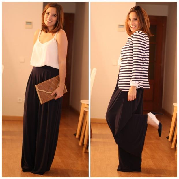 La Reina del Low Cost Lourdes Moreno Pilar Pascual del Riquelme pantalones palazzo look comuniones 2015 look graduacion look boda pantalon estilo para chicas tallas grandes (1)