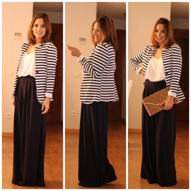 La Reina del Low Cost Lourdes Moreno Pilar Pascual del Riquelme pantalones palazzo look comuniones 2015 look graduacion look boda pantalon estilo para chicas tallas grandes (2)
